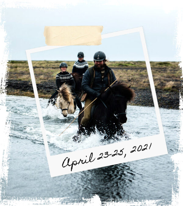 Mr Iceland - horse retreat April 23-25 2021